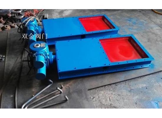 DYDCF电液动插板阀、优质碳素钢焊接结构