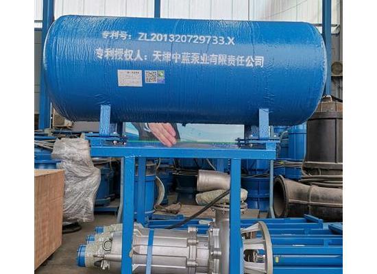 排涝浮筒潜水污水泵 大流量排污泵厂家直销