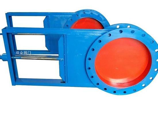 LMD-II气动双向插板阀厂家专业定制 快速发货