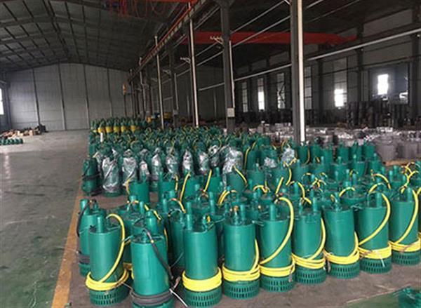 矿用防爆排沙泵BQS250-60-75/N 大流量水泵