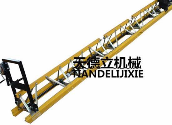 ZDL汽油振动梁 修路摊平机 框架式整平机 混凝土振捣梁