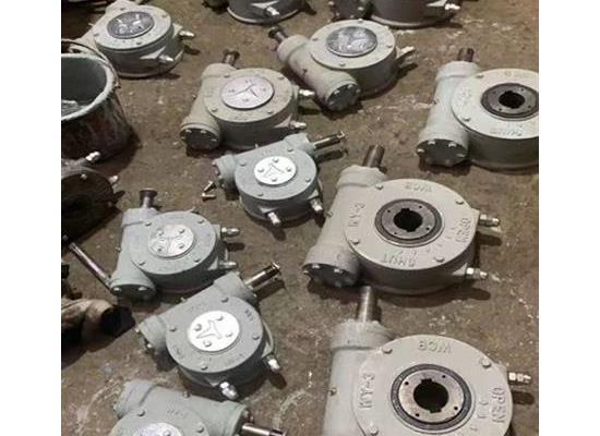 YXqdx3部分回转型阀门装置,蝶阀球阀手动装置蜗轮箱