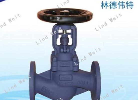 林德伟特LBSV优质蒸汽波纹管截止阀