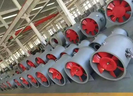 鑫润公司厂家直销  HTF系列轴流式消防排烟风机  风机箱