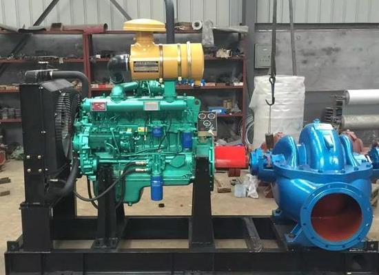 大流量柴油机水泵