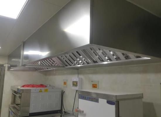 济南厨房集气罩在餐饮业施展拳脚