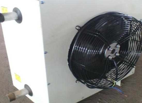 55kw工业厂房用D80电加热暖风机,占地面积小