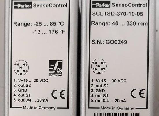 SCLTSD-370-10-05/Parker/传感器/原装