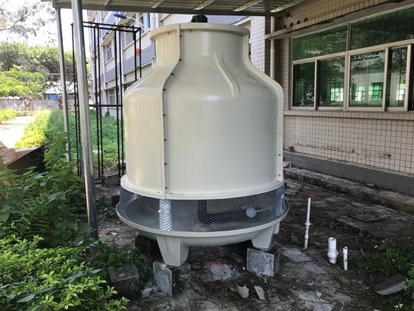 圓形逆流式玻璃鋼循環水冷卻塔冷水塔