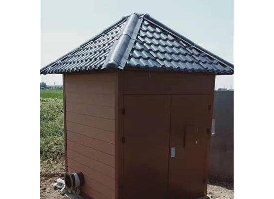 农田灌溉一体化泵站的组成