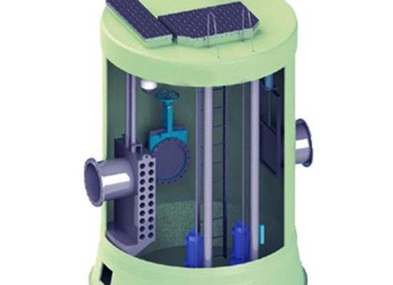 智能一體化截污井污水處理的好幫手