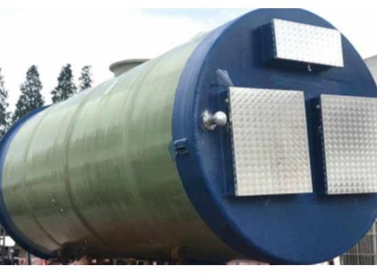 玻璃鋼預制泵站