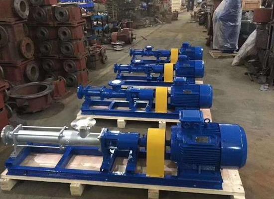 G40-1型螺杆泵