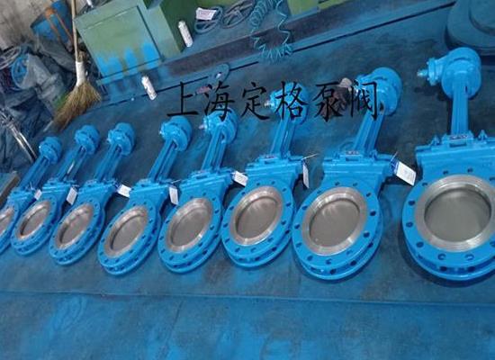 PZ573X-10C 傘齒輪刀閘閥 手動刀閘閥 插板閥 漿閘