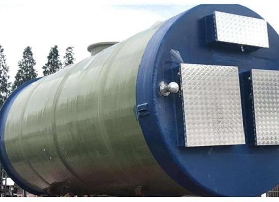 玻璃鋼預制一體化泵站