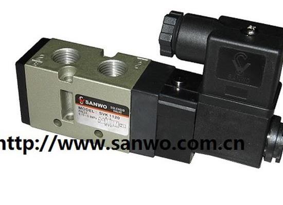 韩国SANWO三和SVK1120 SVK1220 换向电磁阀