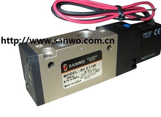 韩国SANWO三和SVZ5120 SVZ5220电磁阀控制阀