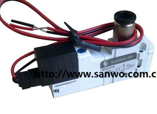 韩国SANWO三和SVD213 SVD313 电磁阀