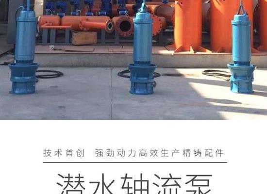 天津德能泵業大功率潛水軸流泵,大流量,滿足不同揚程