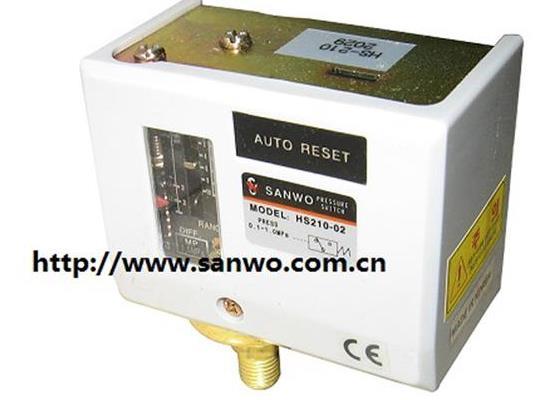 SANWO压力开关 HS203-02 HS210-02