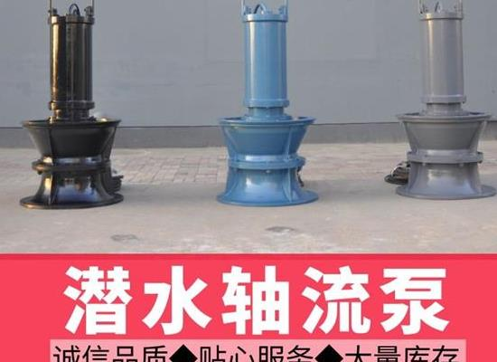 大功率大流量潛水軸流泵,天津軸流泵廠家