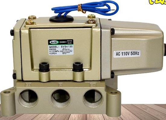 韩国DANHI丹海SVS4130金属密封SMC电磁阀韩国三和