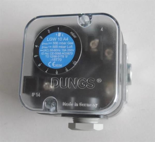 DUNGS冬斯GW10 A5/GW50 A5燃气压力开关