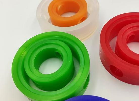 上海厂家直供 硅橡胶阀座 流体设备专门 多色可选 定制橡胶