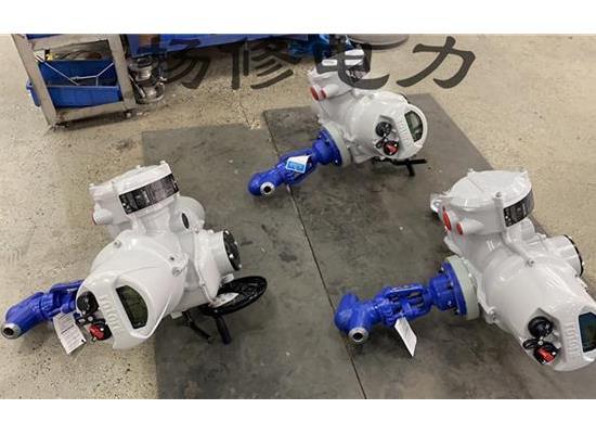 扬修电力电动焊接截止阀J961Y配套智能型执行机构