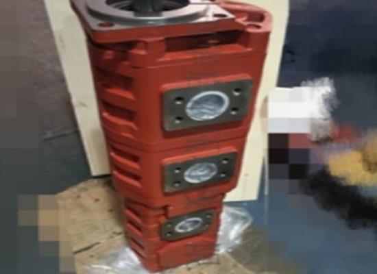 谷登35吨钻机三联齿轮油泵钻机三联泵青州液压泵