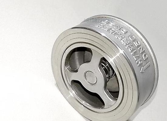 温州厂家现货304不锈钢对夹式止回阀H71H升降式单向阀