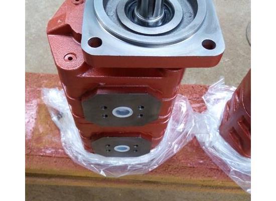 龙工机械 液压齿轮泵CBGJ2080/2040青州液压泵厂制