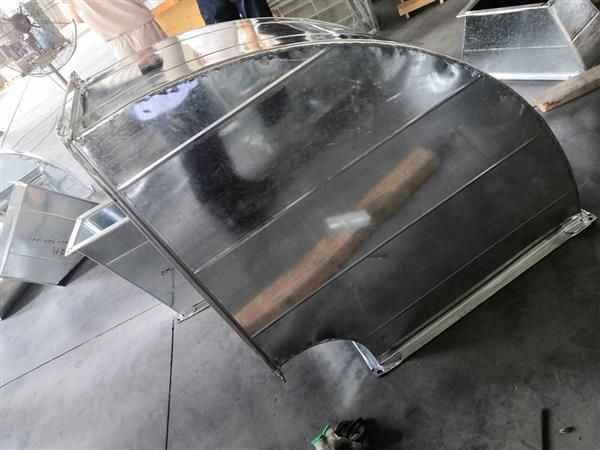高格中央空调镀锌铁皮风管风道弯头变径厂家直销