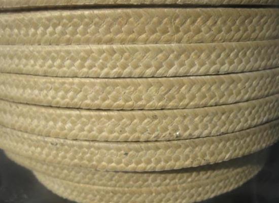 芳綸盤根 芳綸纖維盤根環