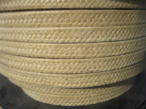 芳纶盘根 芳纶纤维盘根环