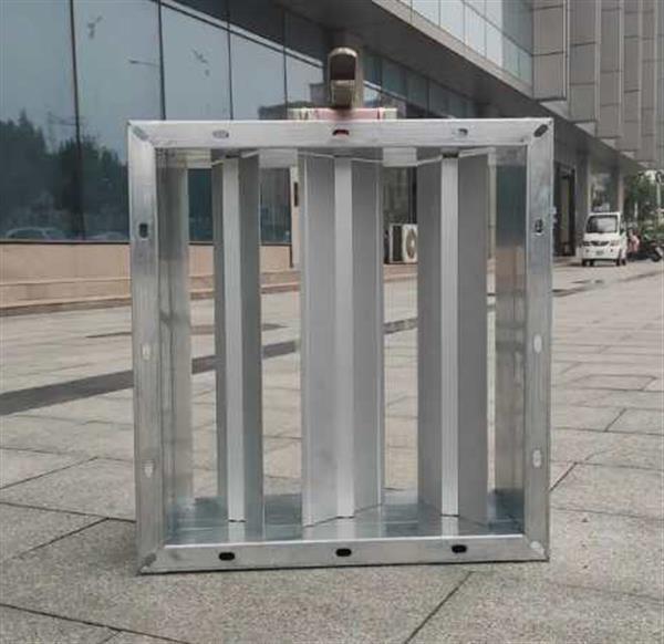 高格中央空调特制铝叶片手动风量调节阀