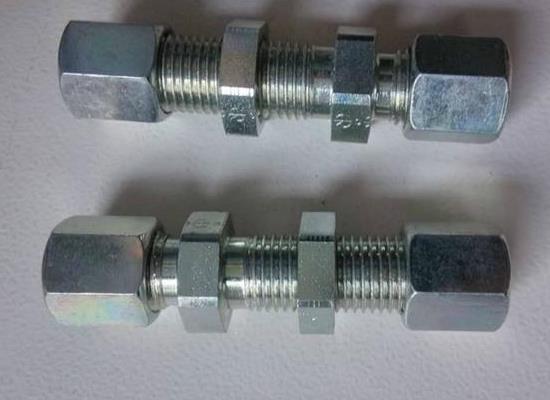 TN102過壁式直通接頭液壓接頭( 6-42mm)