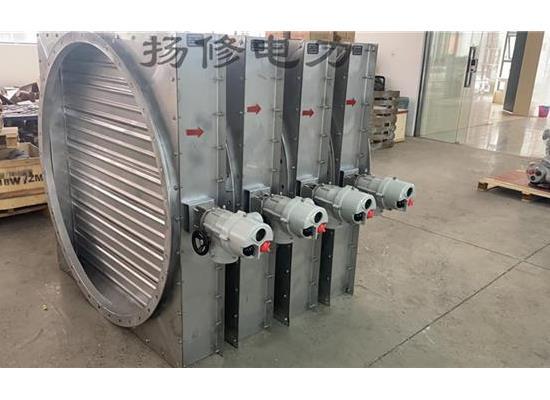 电动密闭风阀DN1200/电动密闭阀(配套智能电动头)