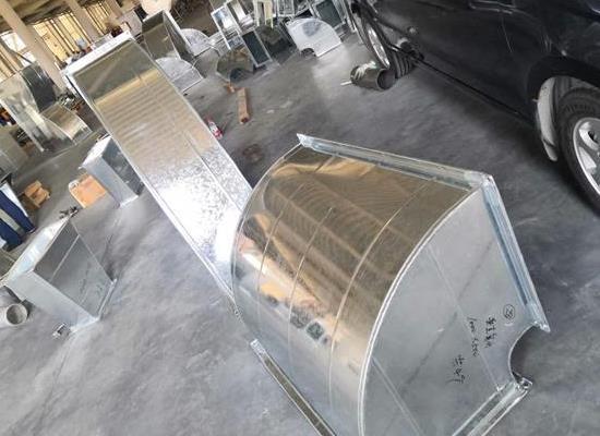 高格中央空调镀锌铁皮风道弯头三通变径方管