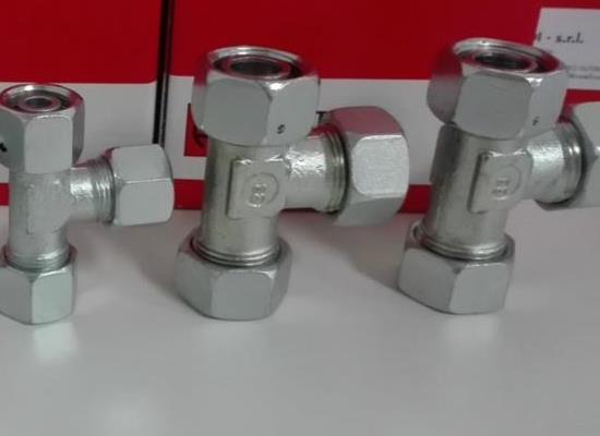 雷斯特利TN421可調式L型接頭液壓接頭三通接頭