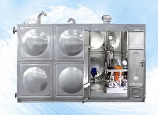 無負壓不銹鋼智能化箱式泵站(RCGP)
