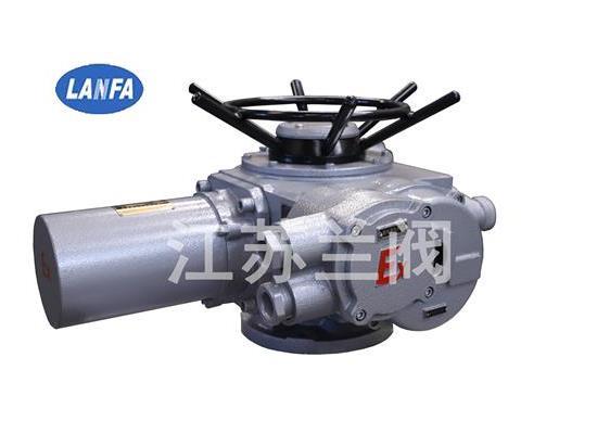 Z型防爆型电动装置 江苏兰阀供应