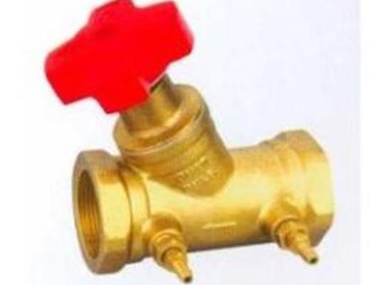 平衡閥黃銅絲口數字鎖定平衡閥 靜態平衡閥SP15F-16T