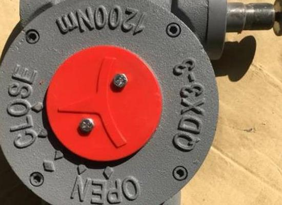 QDX3-2手动蝶阀涡轮箱,DN150蝶阀蜗轮头