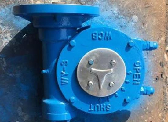 QDX3-D5/DN500蝶阀蜗轮箱,电动球阀执行器