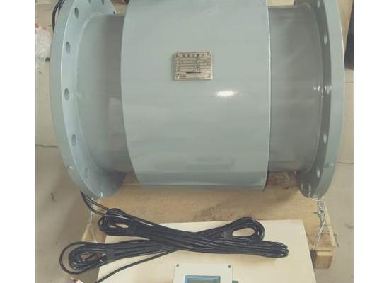 泵出口管道电磁流量计DN100分体式电磁流量计