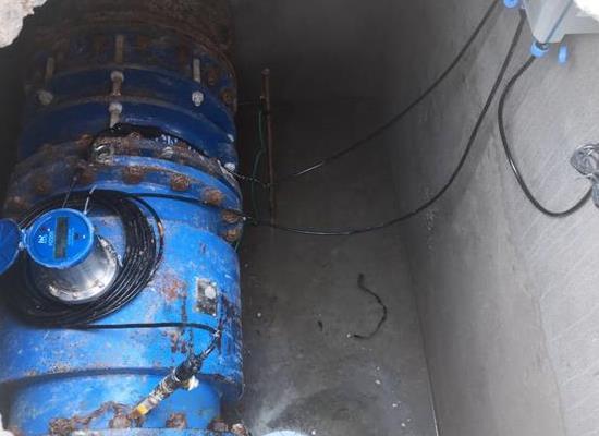 供水管網分區計量流量計出水管電磁流量計