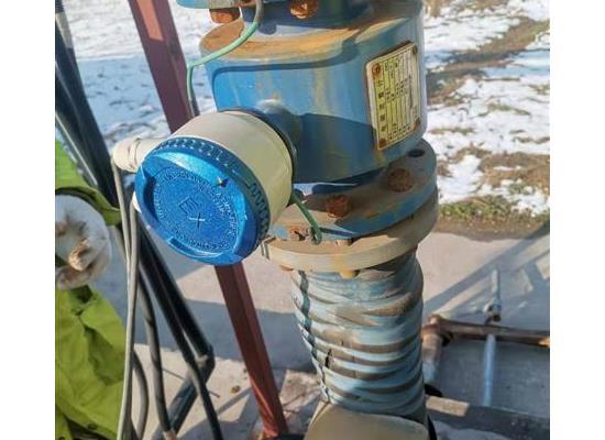 調節池出水/回用水電磁流量計分體型四氟內襯電磁流量計