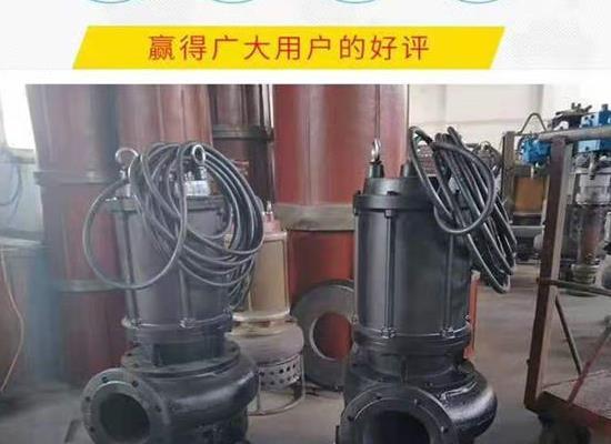 CSQ潛水泥漿泵  大流量耐磨礦渣泵