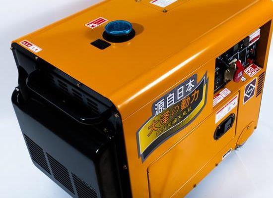 大澤動力柴油發電機TO7600ET-J,TO7900ET-J